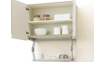 サッと引き出せる便利な収納棚「クイックパレット」