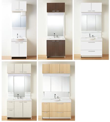 ソフィニアはサイズが豊富で多くのお家で設置可能!5種類の間口寸法から選ぶ事が可能です