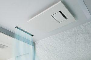 Lクラスの「カビシャット暖房換気乾燥機」は省エネ設計だから梅雨でも安心